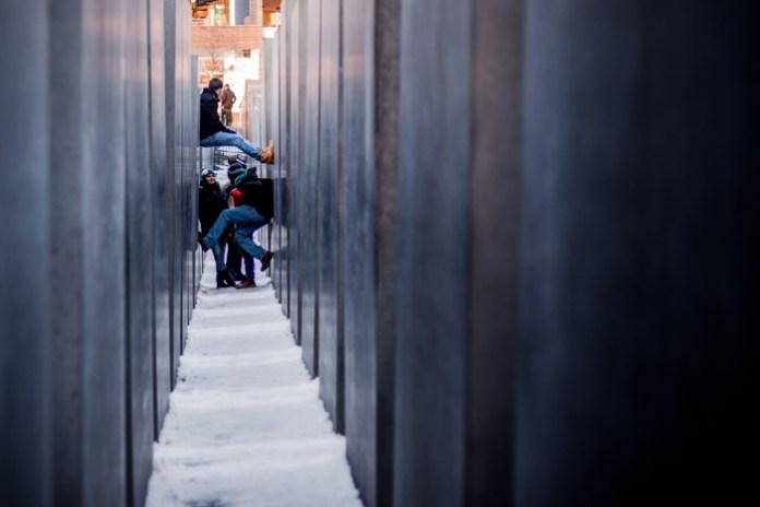 Holocaust Memorial Levitators