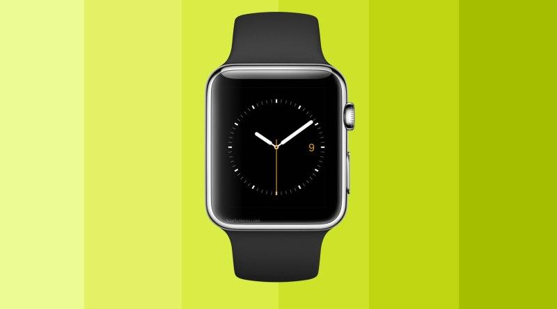 Apple Watch Sport Screen