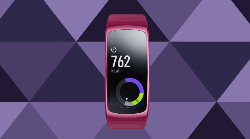 Samsung Gear Fit2 Screen
