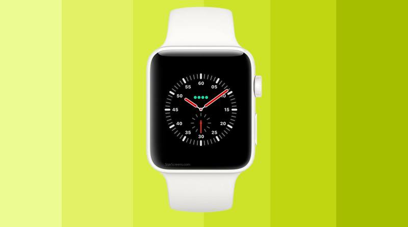 Apple Watch Edition Series 3 Screen
