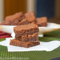 Chocolate brownies in 40 minutes