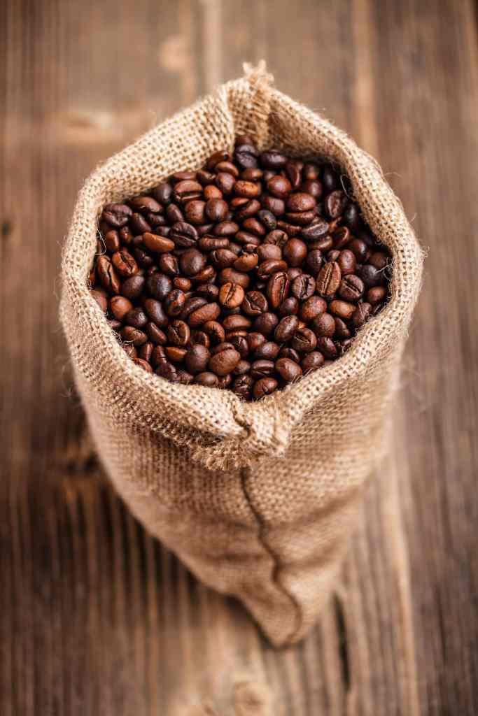 Coffee beans for a macchiato  Macchiato coffee beans PQ9F3VW