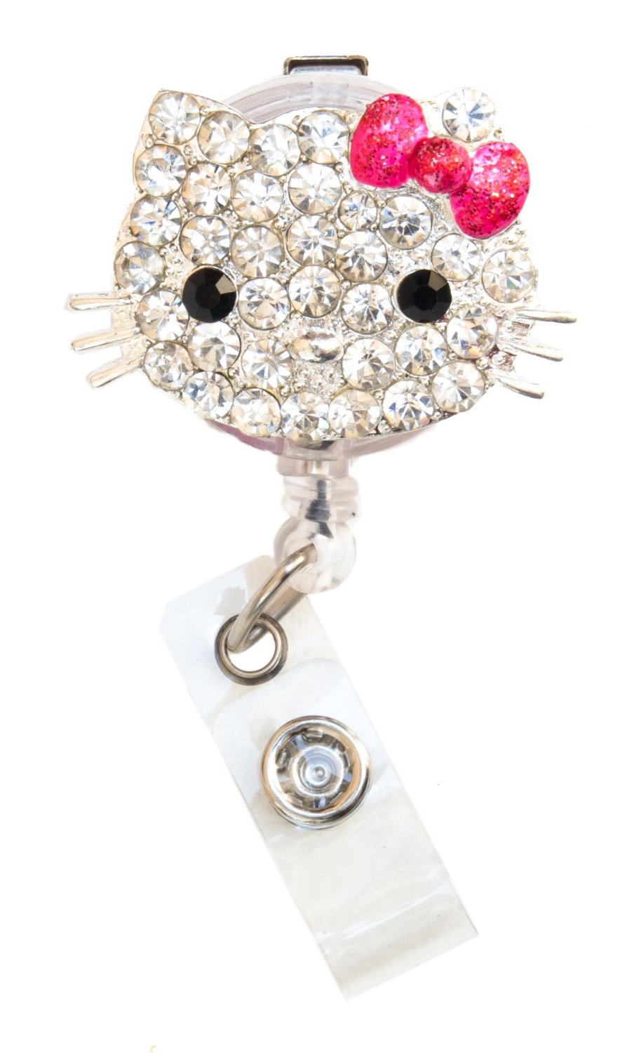 Sparkly Bling Nails: New Custom Bling Rhinestone 3D Hello Kitty Head W/ Sparkly