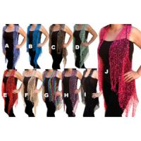 Women's Colored Custom Knit Pattern Light-Weight Confetti Tops: Group Shot