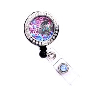 Fish Charm Locket Badge Reel Retractable ID Badge Holder ...