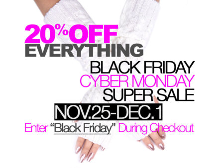 SIZZLE CITY Shop Homepage Slider - Black Friday / Cyber Monday Sale