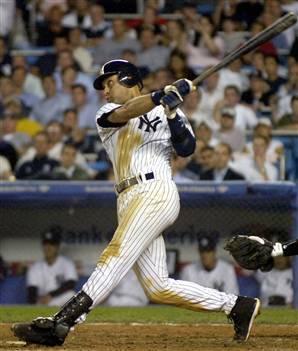 Swinging the bat at a teammate