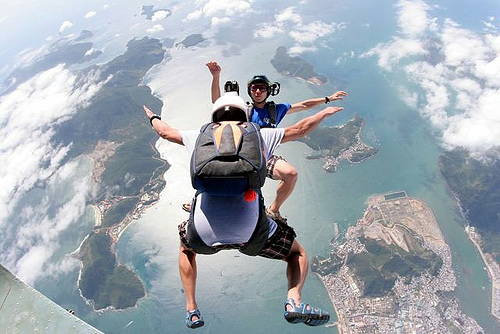 16 Skydiving pictures - 20 Awesome Skydiving Pictures