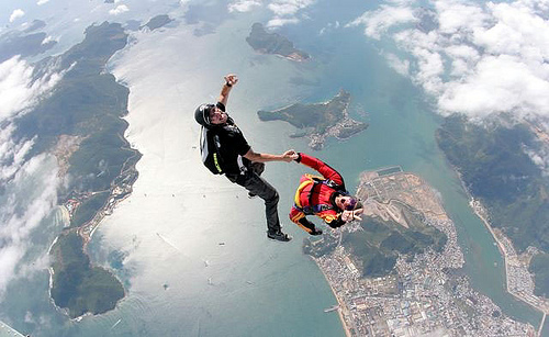 18 Skydiving pictures - 20 Awesome Skydiving Pictures