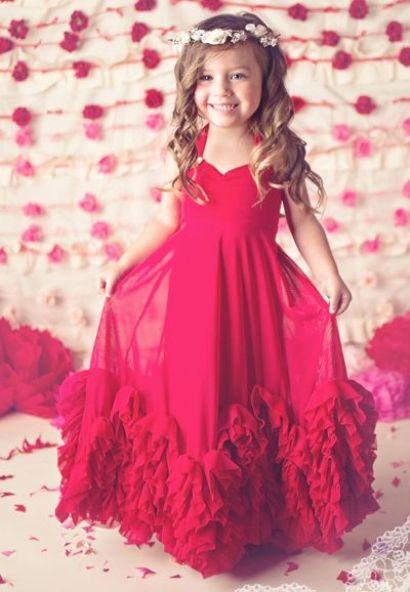312b03cb27492a18b7133ebc3bd88e3c - Red Flower Girl Dresses