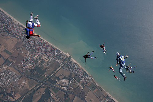 5 Skydiving pictures - 20 Awesome Skydiving Pictures