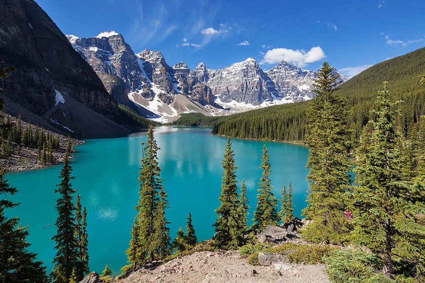 moraine lake canada - Best Places To Travel In The World
