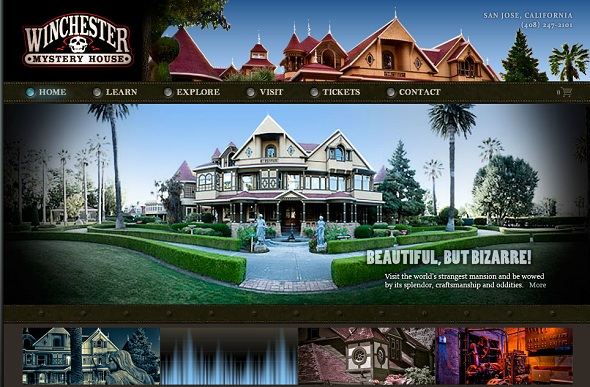18 winchester mystery house - 40 Best Websites of Museums Quotes For Your Inspiration