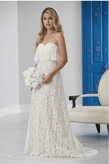 51 2 - 5+ Ideas for your Beach wedding Dress