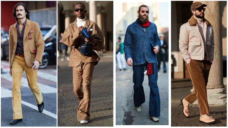 70s Style - Men's fashion trends 2018: What's unusual?