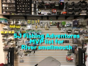 My 2018 MVP list for river smallmouth – SJ FISHING ADVENTURES