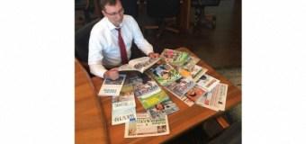Чиновники Татарстана поддержали флешмоб главы «Татмедиа», призвавшего подписываться на местные журналы и газеты