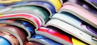 Производство журналов в России в январе-августе 2016 г. сократилось на 9%