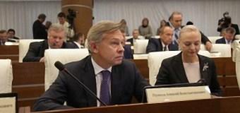 Алексей Пушков возглавил временную комиссию СФ по информационной политике и работе со СМИ