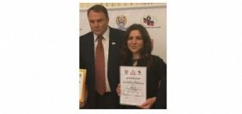 Зеленодольскому журналисту награду вручил популярный телеведущий Петр Толстой