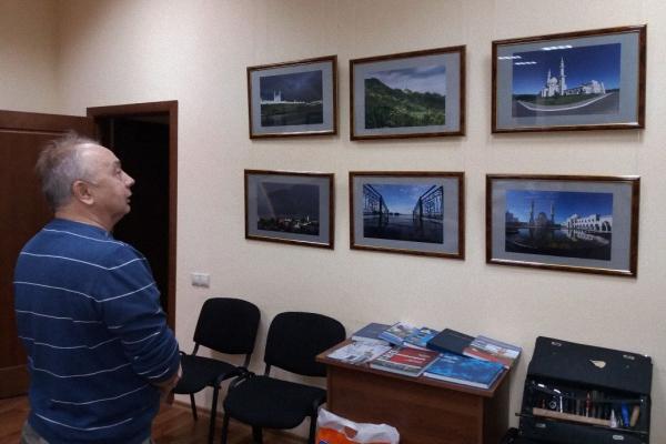 В Казани открылась выставка фотографа Рамиля Гали