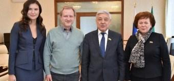 Фарид Мухаметшин встретился с руководством Союза журналистов России