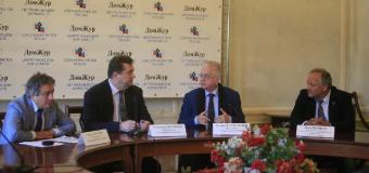 Подписание соглашения о сотрудничестве между Союзом журналистов и Союзом музеев России
