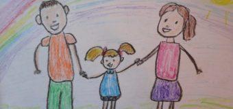 Конкурс  детского рисунка «Моя семья»