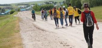 В субботу в Арском районе республики был открыт новый культурно-паломнический маршрут «Тукай юлы» — «Путь Тукая».