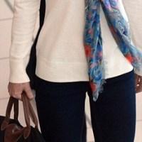Kate Middleton zijden sjaal
