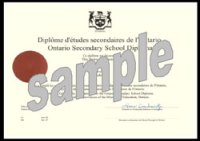 High School Diploma Ontario - awards diplomas free ...