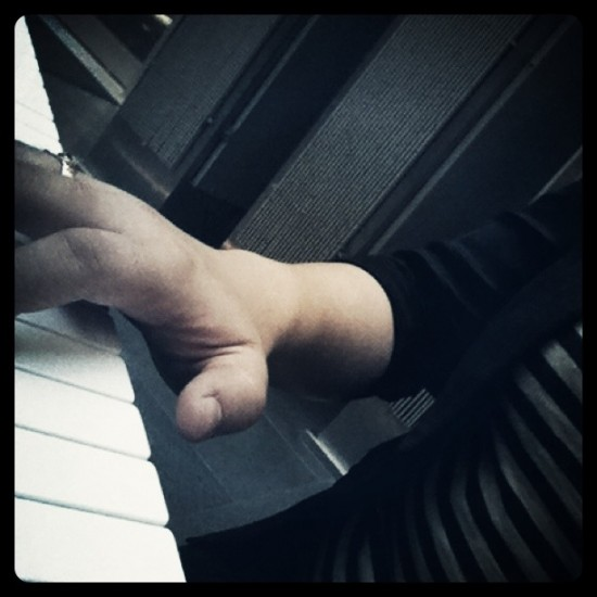 Playing Piano in Der Haus Der Musik