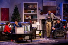 Alex Prejean, Marjorie Hayes, Greg Lush, Kevin Moore in MOTHERS AND SONS