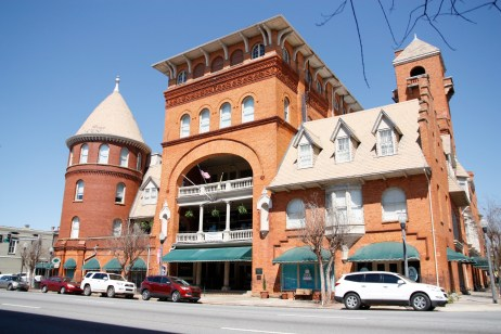 Historic Windsor Hotel (now run by Best Western Plus) in downtown Americus GA