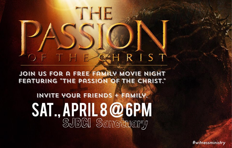 Family Movie Night The Passion Of The Christ Sjbci Org