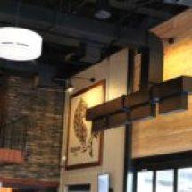 Interior shot of main room at Mudhen Brewing Company