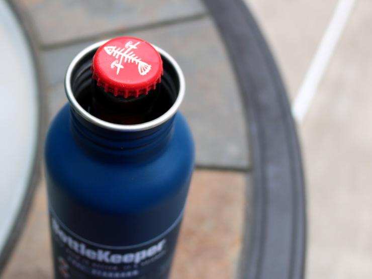 Bottlekeeper 2.0 - Top of the bottle
