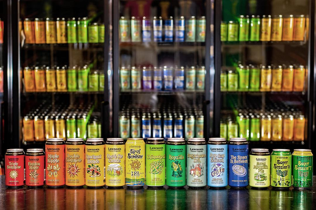 Lawson's Finest Liquids - Beer Lineup