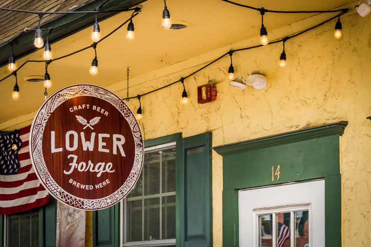 Exterior Shot of Lower Forge Brewery, Medford New Jersey