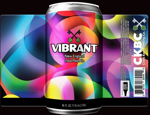 Cross Keys Brewing Company Vibrant New England IPA