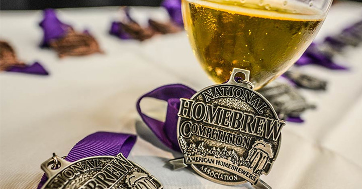 National Home Brew Competition winners medal