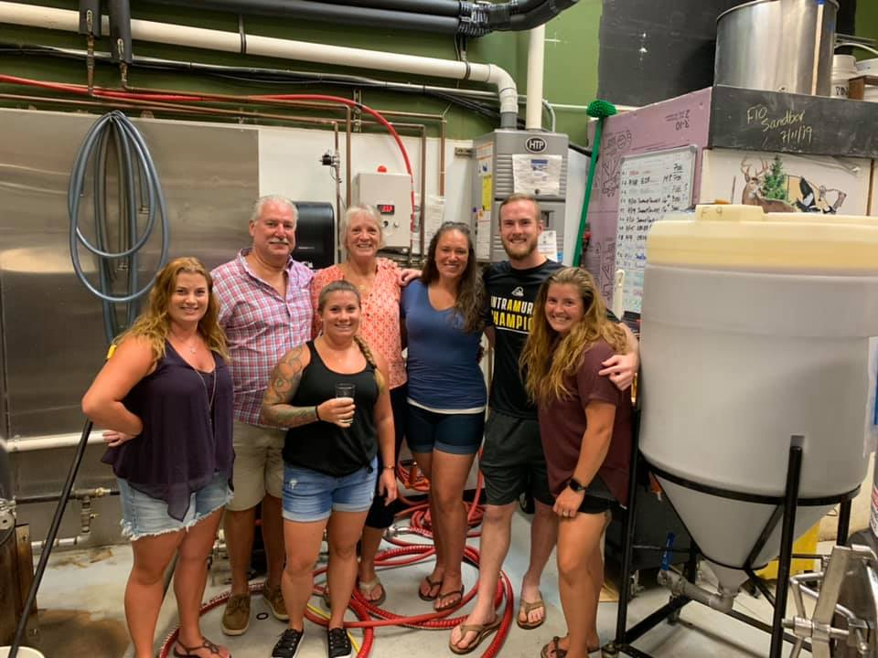 Friends and family brew together in honor of Allie Zambito at Pinelands Brewing Co.