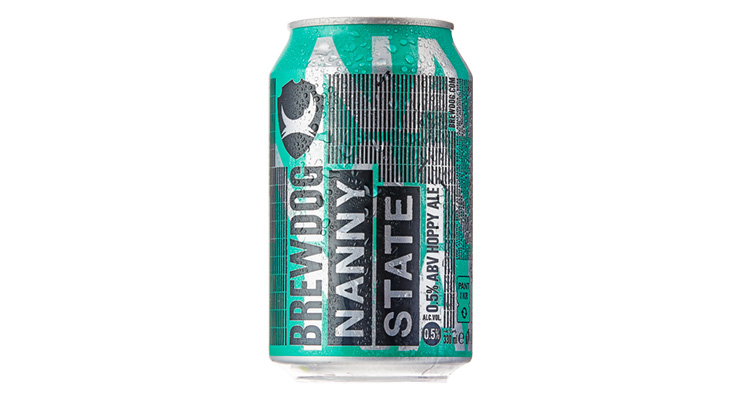 6 Alcohol Free Beers - BrewDog Nanny State