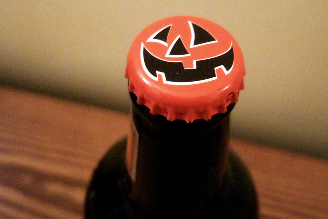 Best Pumpkin Beers - The bottle cap from a 12oz bottle of Souther Tier Pumking