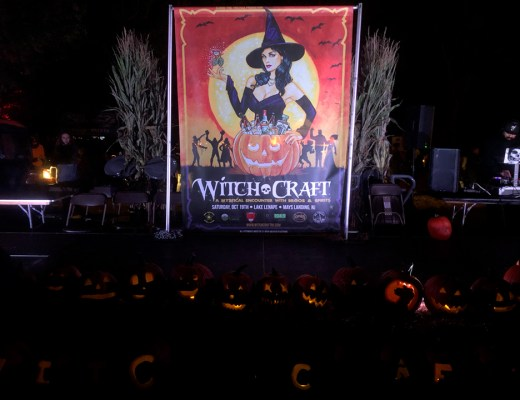 The DJ Stage at WitchCraft 2019