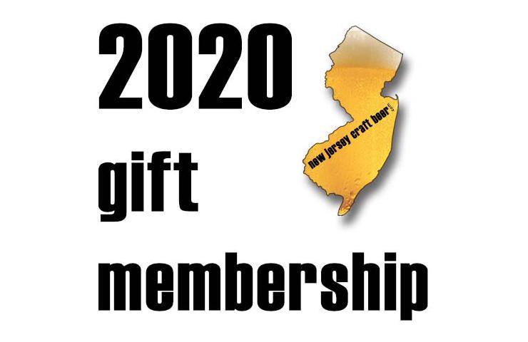 Adhésion à la bière artisanale 2020 du New Jersey