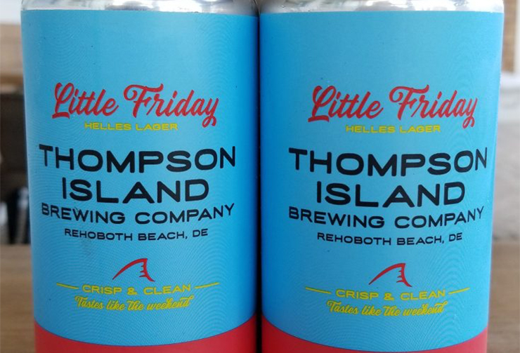 Thompson Island Brewing Company Little Friday Helles Lager