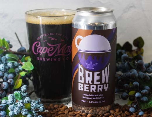 Cape May Brewing Company and Night Shift Brewing Collaborate on Brewberry