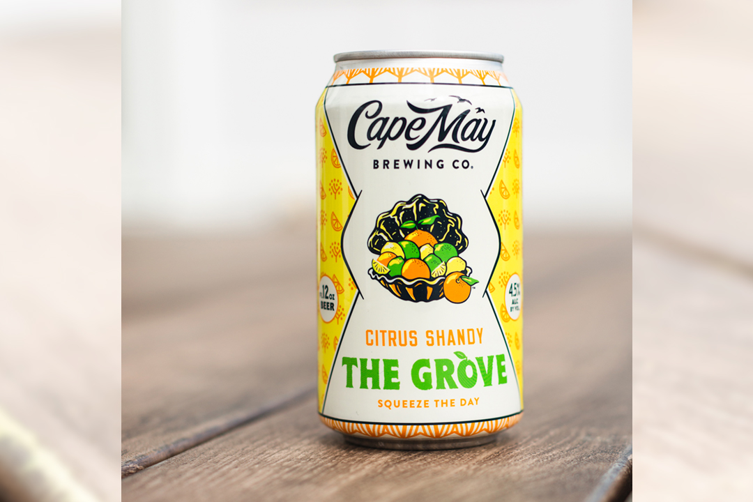 Cape May Brewing Co. Releases Citrus Shandy - The Grove