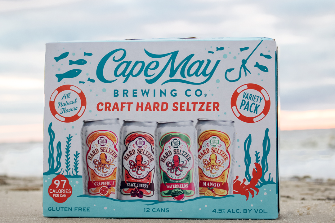 Cape May Brewing Company - Cape May Hard Seltzer 12 Can Variety Pack